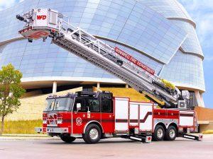 Cincinnati Airport E-ONE fire apparatus